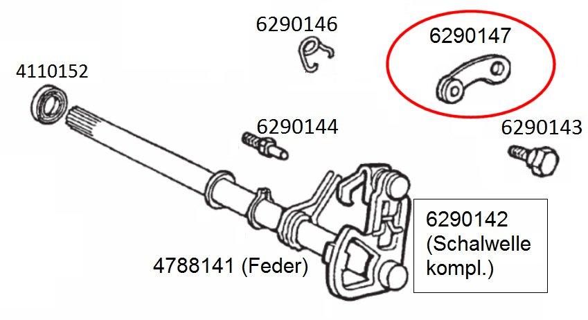 2006- D50B0 Getriebeschaltwelle Feder f/ür APRILIA SX 50